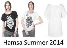 Hamsa t shirt t-shirt tshirt Womans Mens Unisex Fashion Designer 90's Hipie S