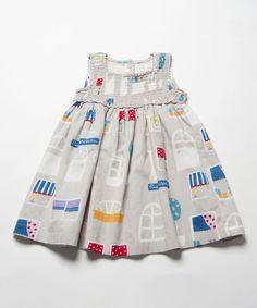 MGray Paris Shirred Babydoll Dress