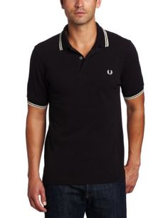 Fred Perry Men's Slim Fit Twin Tipped Polo Shirt, « Impulse Clothes