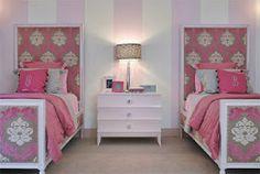 Decoração para quarto de gêmeas