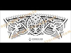 5f4ffc32a1756 Tribal armband/legband tattoo design: how to make a seamless fit for a  tattoodesign