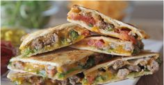 Quesadillas are quick, easy, and delicious. Why not make it even better by fusing it with a cheeseburger? And it's just as simple to make!