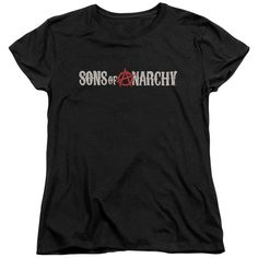 Sons of Anarchy: Beat Up Logo Women's T-Shirt