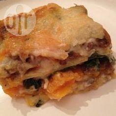 Lasagne alla zucca funghi e spinaci @ allrecipes.it
