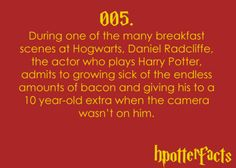 Harry Potter Facts #005
