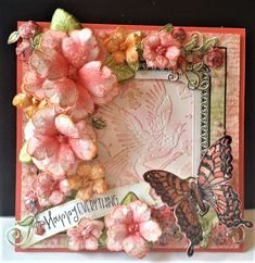 Butterfly Garden by DJRants - Cards and Paper Crafts at Splitcoaststampers #heartfeltcreations
