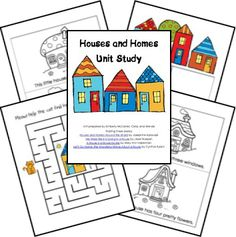 Free Houses and Homes Unit Lesson Plans