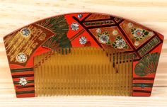 Japanese Antique Tortoiseshell Comb Japanese Lacquer Wooden Hair Comb | eBay