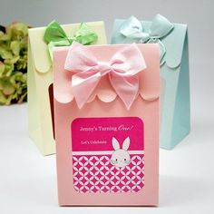 Personalized Kids Birthday Animal Candy Bags