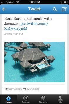 Bora bora #honeymoon please