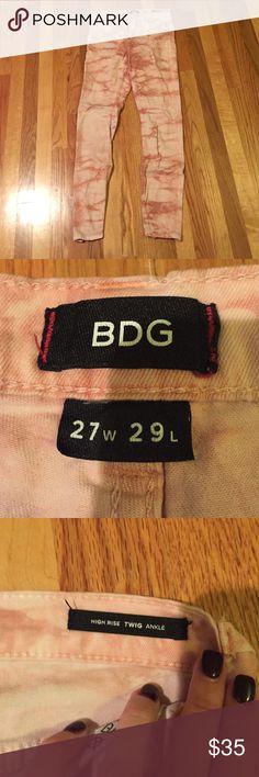 BDG tie dye jeans high rise twig ankle tie dye jeans, no flaws! BDG Jeans Skinny