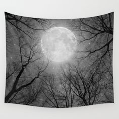 Buy May It Be A Light (Dark Forest Moon) Wall Tapestry by soaring anchor designs . Worldwide shipping available at Society6.com. Just one of millio...