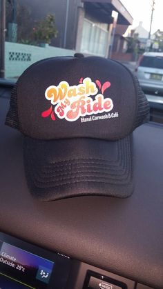 Wash my Ride Trucker Cap