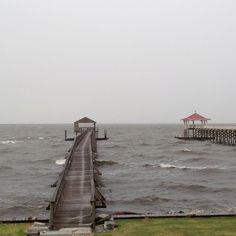 Storming on Lake Pontchartrain
