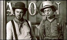 Don Knotts, right, with Tim Conway, starred in the 1970s movie