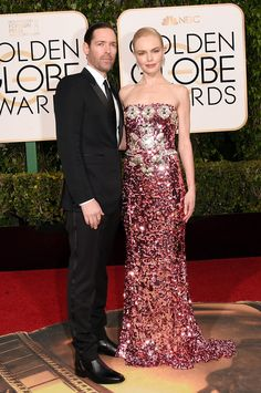 Kate Bosworth at the Golden Globes 2016