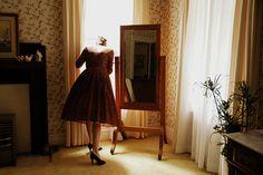 Imagem de girl, vintage, and dress