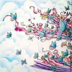 Close up #kerbyrosanes @kerbyrosanes #Imagimorphia #animorphia #prismacolors… Doodle Sketch, Doodle Art, Creative Haven Coloring Books, Colouring Techniques, Coloring Book Pages, Mandala Art, Adult Coloring, Color Inspiration, Character Design