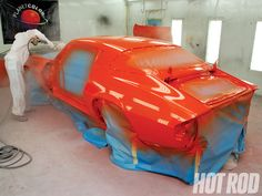 How to Flat-Paint a Project Car - Hot Rod Magazine - Hot Rod Shoes Heels Pumps, Flats, Coat Paint, Car Painting, Hot Rods, Projects, Loafers & Slip Ons, Log Projects, Blue Prints