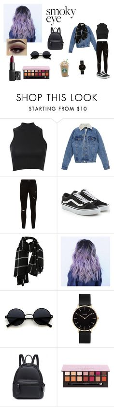 """""""Shopping with friends xx"""" by kattex-0 on Polyvore featuring moda, Pilot, Vans, CLUSE, NARS Cosmetics, grunge, autumn i shop"""