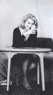 Catherine Deneuve - el álbum del Club de Fans