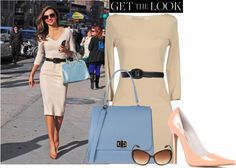 """""""Get the look - Miranda Kerr"""" by martina-hel ❤ liked on Polyvore"""