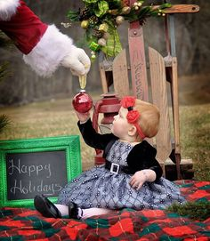 Outdoor Christmas pictures Blue Owl Photography