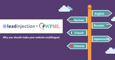 We are proud to announce that Leadinjection is now fully #WPML Compatible. https://leadinjection.io/blog/ #wordpress #wpml #leadinjection #theme @wpml