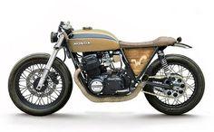 Honda CB750 Concept #caferacer | Inazuma cafe racer | caferacerpasion.com