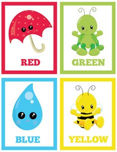 by Kinder Gems Store Learning English For Kids, English Lessons For Kids, Kids English, Shapes Flashcards, Color Flashcards, Card Games For Kids, Kids Cards, Toddler Learning Activities, Preschool Activities