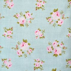 """Tilda Fabric FQ """"Millie Teal"""" NEW Country Escape Range"""
