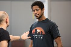 Northern Soul's Shamaila Khan interviews actor Alfred Enoch about his latest role in King Lear at Manchester's Royal Exchange.