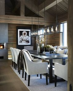 The essential topic of contemporary home decor is simple, clean lines with a progressed twist. Contemporary home decor can be accomplished by immaterial Rustic Living Room Furniture, Wood Home Decor, Home Decor Bedroom, Decor Room, Wood Interior Design, Wood Interiors, Contemporary Home Decor, Modern Decor, Beautiful Interiors