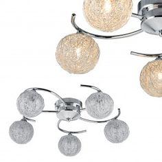 [lux.pro] Lampada da soffitto 40,10 € Design Salon, Suspension Design, Led, Branches, Crochet Earrings, Stud Earrings, Jewelry, Metal, Light Bulb Vase
