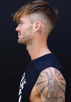 Here you may find some of the best styles of men's haircuts to create in 2018. Like fashionable ladies, there are a large of men who always want to sport unique kinds haircuts and hairstyles to wear for their special occasions and celebrations. You may wear undercut style with medium & long hair for more handsome look.