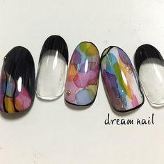 Sharpie Nail Art, November Nails, Special Nails, Daily Nail, Japanese Nail Art, Dream Nails, Cute Nails, Pretty Nails, Flower Nails