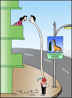 JURASSIC PARK - Comics by Rajesh Rathod in My Creation at touchtalent 64901
