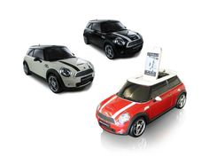 MINI Cooper Docking Station With Radio - Assorted Colors