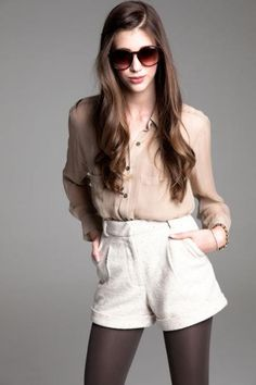 clarence blouse + thames short by paper crown