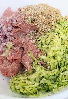 Turkey Burgers with Zucchini – Skinnytaste