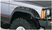 Black Face Bar Steel Front Bumper For 1984-1996 Jeep Cherokee