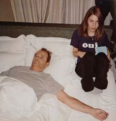 Utterly in love with this picture of Bill Murray and Sofia Copolla. Sofia reflects Scarlett in Lost In Translation... maybe that's the point...