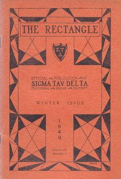 The Sigma Tau Delta Rectangle - Winter 1949