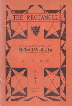 The Sigma Tau Delta Rectangle - Winter 1949