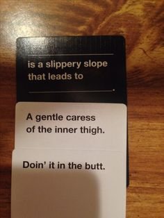 Cards Against Humanity - omg i laughed so hard at this one Cards Vs Humanity, Funniest Cards Against Humanity, Haha Funny, Hilarious, Funny Stuff, My Tumblr, Tumblr Funny, Funny Quotes, Funny Memes