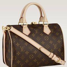 8d862e0fec6d Louis Vuitton Outlet Monogram Canvas Speedy 25 With Shoulder Str