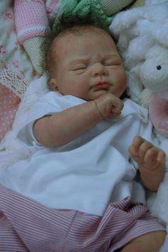 Mummelbaerchens Ivy, so cute Reborn Baby Girl, New sculpt by Elisa Marx | eBay