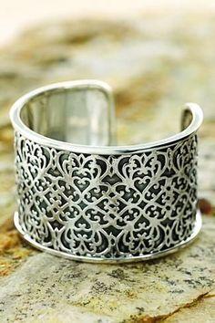 Intricate cuff. Real pretty