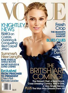 Vogue May 2006 Keira Knightley