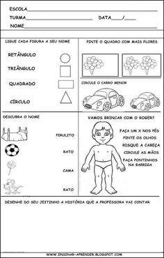 Avaliacao Diagnostica 1 Com Imagens Atividades Matematica